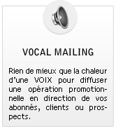 vocal mailing
